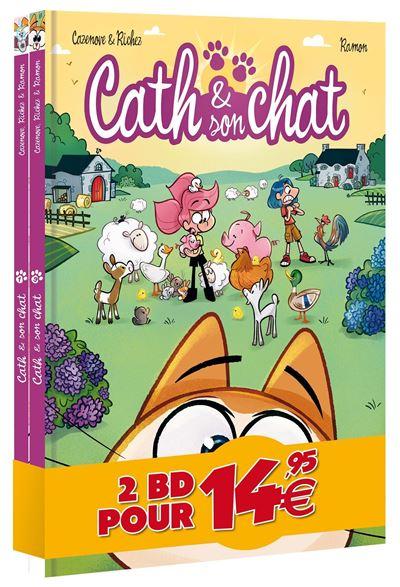 Cath et son chat - pack découverte 2020