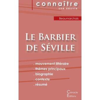 Fiche de lecture Le Barbier de Séville de Beaumarchais (Analyse littéraire de référence et résumé complet)