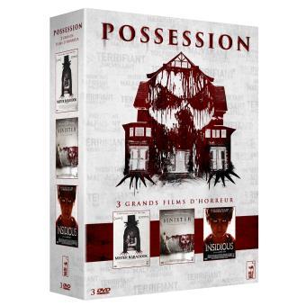 Coffret Possession 3 films DVD