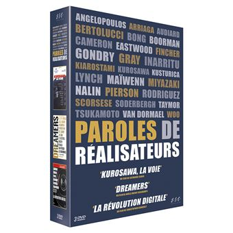Coffret Paroles de réalisateurs 3 Films DVD