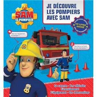 Sam le pompierLivre animé Je découvre les pompiers avec Sam