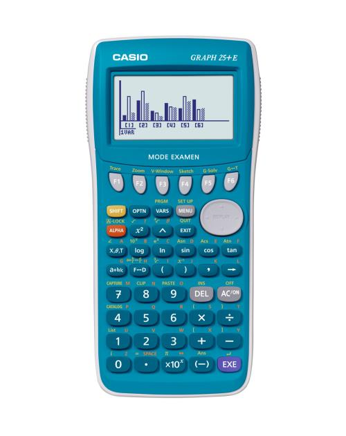 Calculatrice Casio Graph 25+E Mode Examen