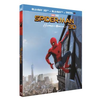 Spider-ManSpider-Man Homecoming Blu-ray 3D + 2D