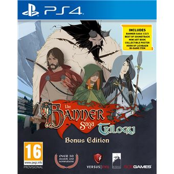 THE BANNER SAGA TRILOGY BONUS EDITION UK PS4