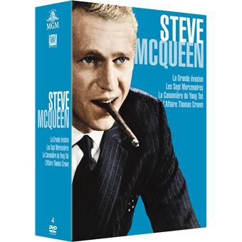 Coffret Steve McQueen 4 films DVD