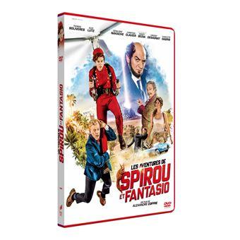 Spirou et FantasioLes Aventures de Spirou et Fantasio DVD