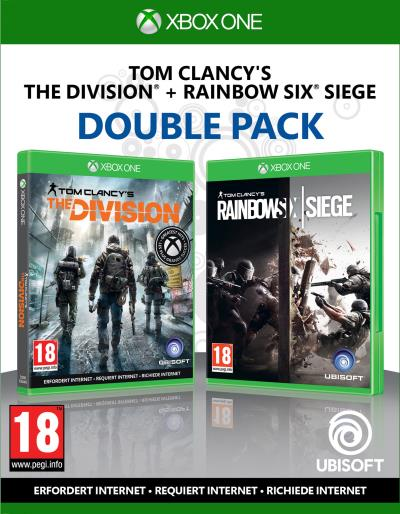 Double Pack Tom Clancy's Rainbow Six Siege + Tom Clancy's The Division Xbox One