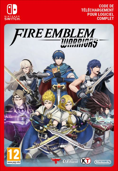 Code de téléchargement Fire Emblem Warriors Nintendo Switch