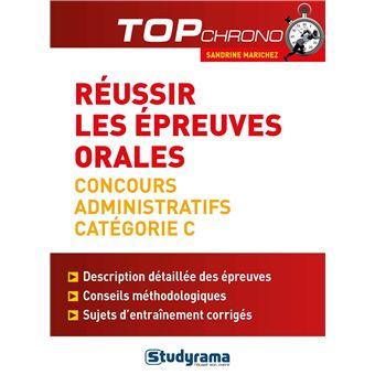 Les Epreuves Orales Concours Fonction Publique Categorie C