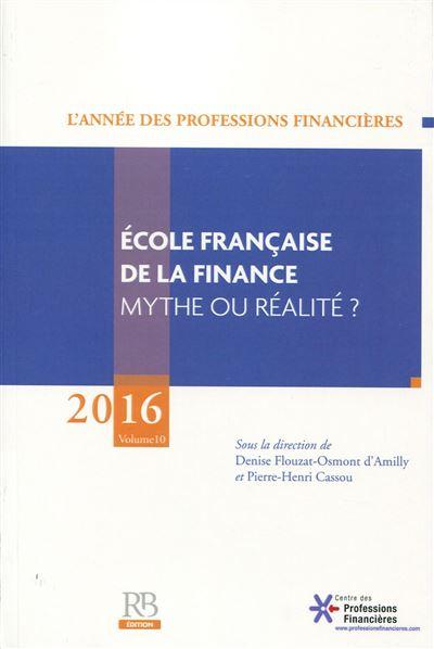 Ecole française de la finance - Banque