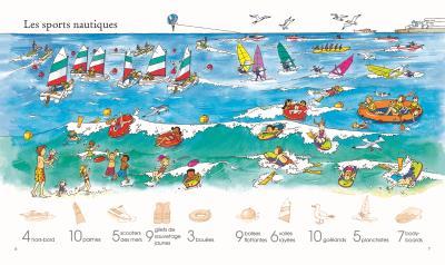 1 001 choses à trouver dans la mer - Autocollants Usborne