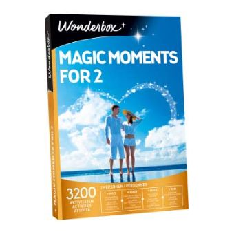 Coffret cadeau Wonderbox Magic moments for 2