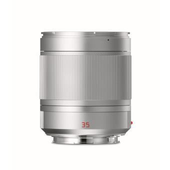 Leica Summilux TL 35 mm f/1.4 ASPH. Lens Anodized Zilver