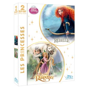 Rebelle - Raiponce Coffret 2 Blu-Ray