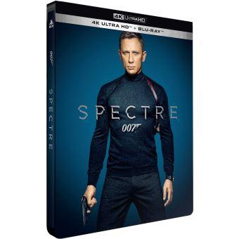 James Bond007 Spectre Steelbook Edition Limitée Blu-ray 4K Ultra HD