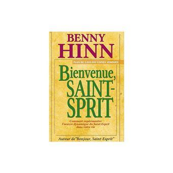 BONJOUR ESPRIT LE LIVRE BENNY SAINT HINN DE TÉLÉCHARGER