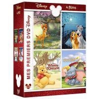 MES PREMIERS DVD DISNEY-4 FILMS-3 DVD-VF