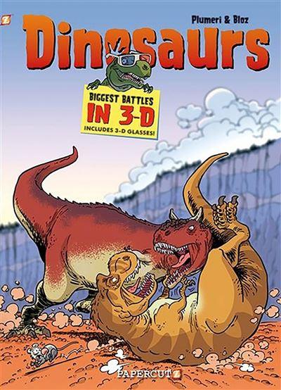 Les dinosaures en BD 3D