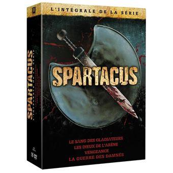 Spartacus : Les Dieux de l'arèneSpartacus Saisons 1 à 3 Coffret Megapack DVD