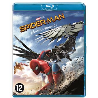 Spider-Man - Homecoming Bluray BIL