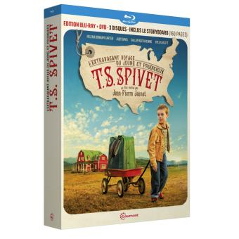 L'extravagant voyage du jeune et prodigieux T.S. Spivet Edition Collector Combo Blu-Ray + DVD