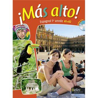 mas alto espagnol 1 re ann e a1 livre de l 39 l ve avec cd audio broch reynald montaigu. Black Bedroom Furniture Sets. Home Design Ideas