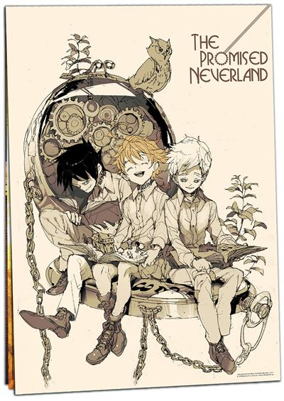 Calendrier 2020 The Promised Neverland
