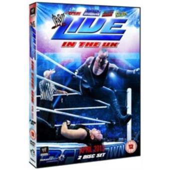 WWE Live In The UK April 2013 DVD