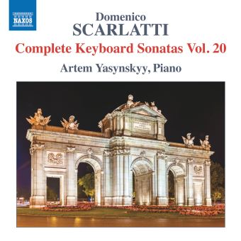 COMPLETE KEYBOARD SONATAS VOL.20