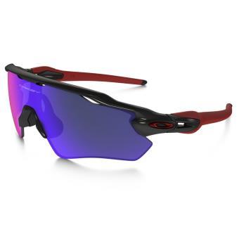 Lunettes de soleil Sport Oakley Radar EV Path Team Colors Noire, rouge et  violette 36587df485ca