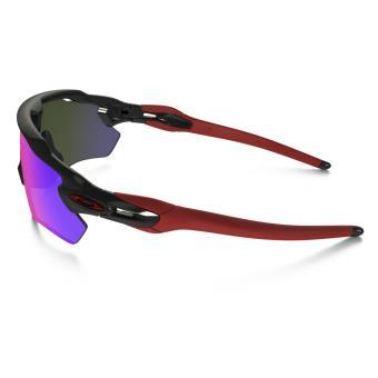 Lunettes de soleil Sport Oakley Radar EV Path Team Colors Noire, rouge et  violette - Lunettes - Equipements sportifs   fnac 452adbd1cbb2