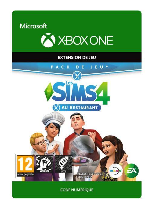 Code de téléchargement Les Sims 4 : Au Restaurant Xbox One
