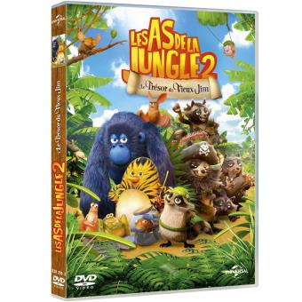Les As De La Jungle 2 Le Tresor Du Vieux Jim Dvd Dvd Zone 2