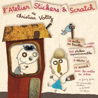 L'atelier stickers & scratch