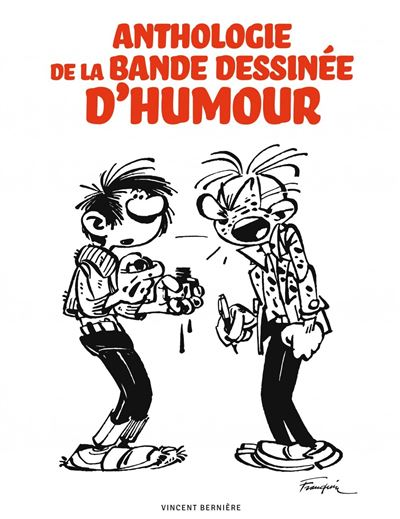 Anthologie de la bande dessinee d'humour