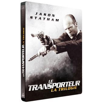 TransporteurCoffret Le Transporteur La Trilogie Steelbook Edition Limitée DVD