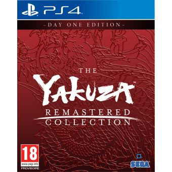 THE YAKUZA REMASTERED COLLECTION - DAY O FR/NL PS4