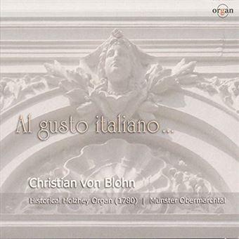Al gusto italiano/oeuvres pour orgue
