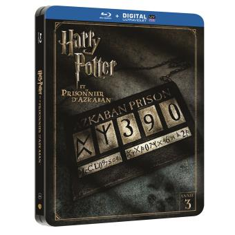 Harry PotterHarry Potter et le Prisonnier d'Azkaban Steelbook Blu-ray