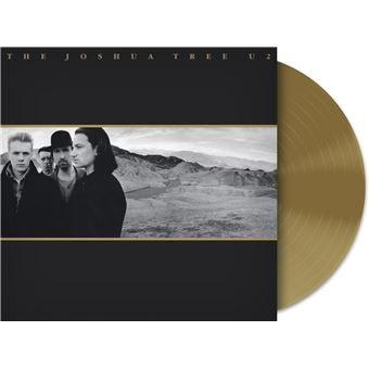 Joshua Tree Vinyle Gold Exclusivité Fnac