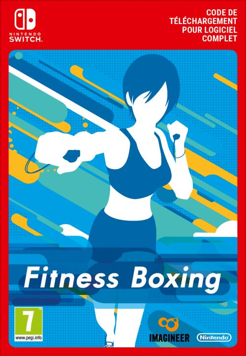 Code de téléchargement Fitness Boxing Nintendo Switch