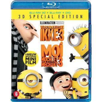 Verschrikkelijke Ikke 3 (3D En 2D Blu-Ray + DVD)