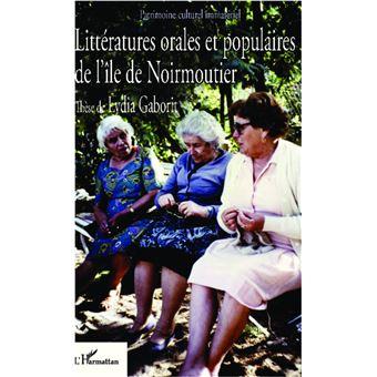 Littératures orales et populaires de l'île de Noirmoutier