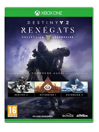 Destiny 2 Renégats Xbox One