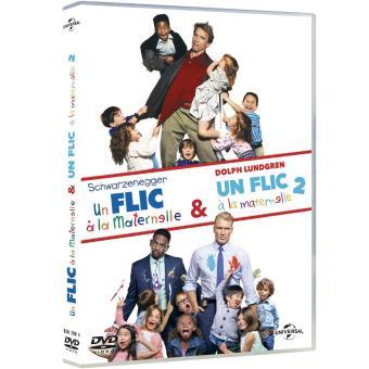 Un flic à la maternelle 1 et 2 - DVD