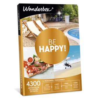 Coffret cadeau Wonderbox Be happy !