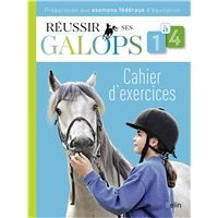 Réussir ses Galops 1 à 4 (Cahier d'exercices)