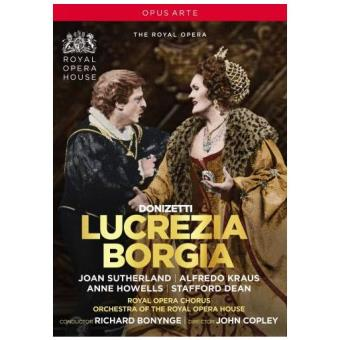 Donizetti : Lucrèce Borgia DVD