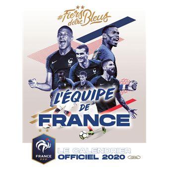 Calendrier Sport 2020.Le Calendrier Officiel 2020 De L Equipe De France