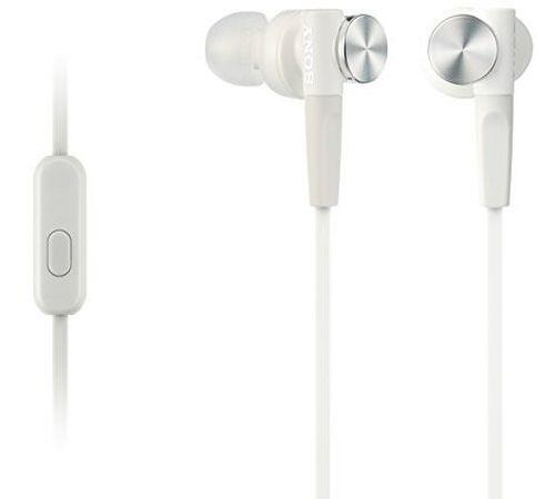 Ecouteurs Sony MDR-XB50AP Blanc
